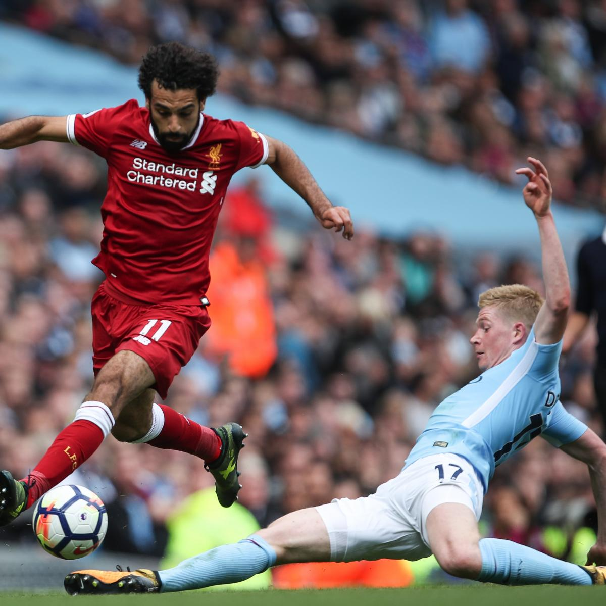 Liverpool vs. Manchester City: Team News, Preview, Live Stream, TV Info