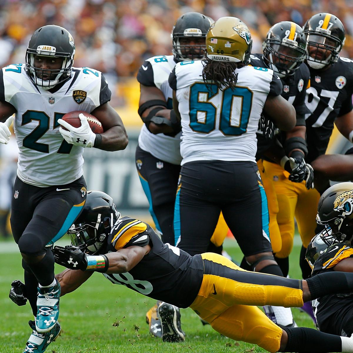 Jaguars vs. Steelers: TV Schedule, Odds, Ticket Info, Game Time and More