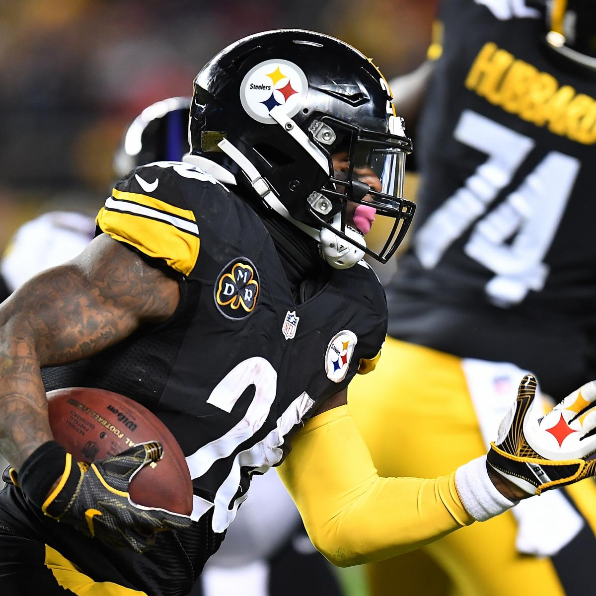 Jaguars vs. Steelers: Updated Odds,Stat Predictions for 2018 AFC Divisional Game