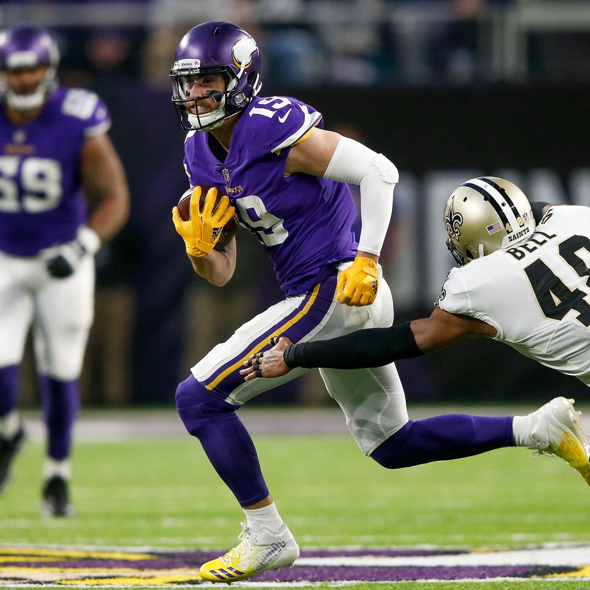 Vikings vs. Eagles: Final Odds, Spread Picks for NFC Championship Game 2018
