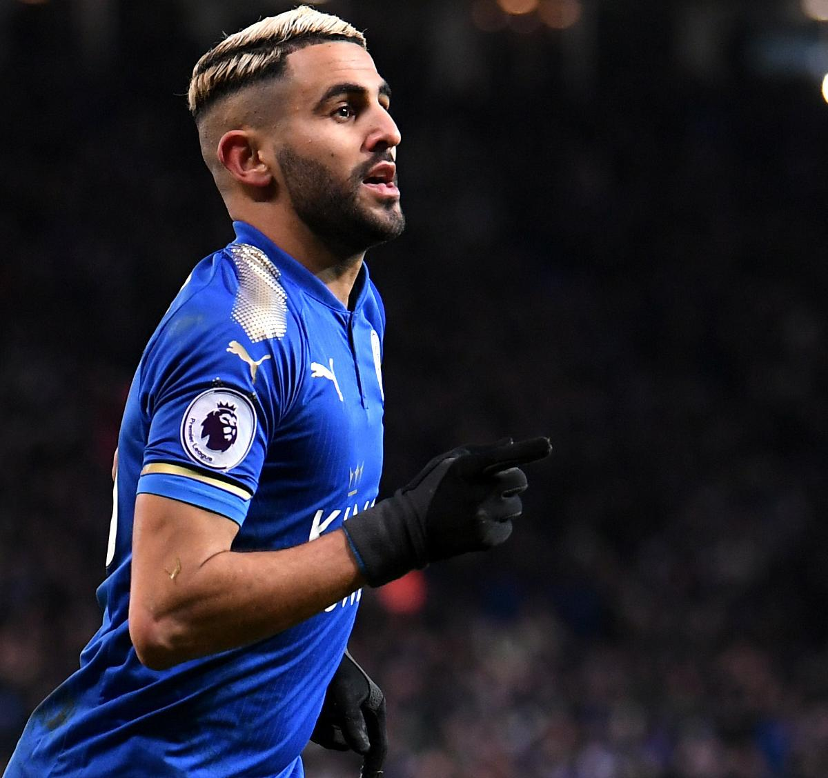 Riyad Mahrez Transfers to Manchester City from Leicester City
