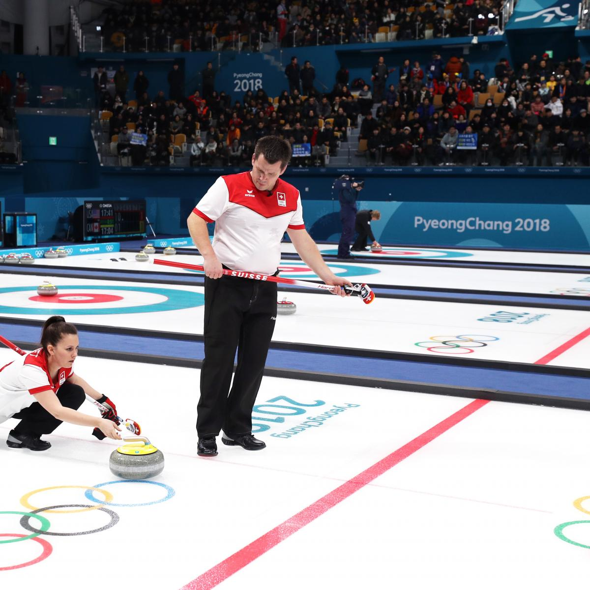 Canada vs. Switzerland Set for Curling Mixed Doubles Gold-Medal Match