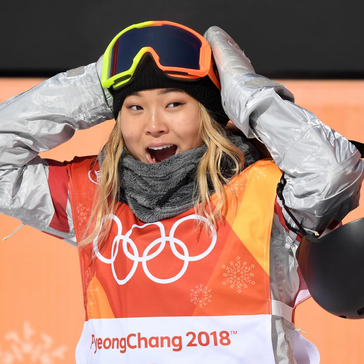Chloe Kim Wins Gold Medal for Snowboarding Halfpipe at Olympics 2018