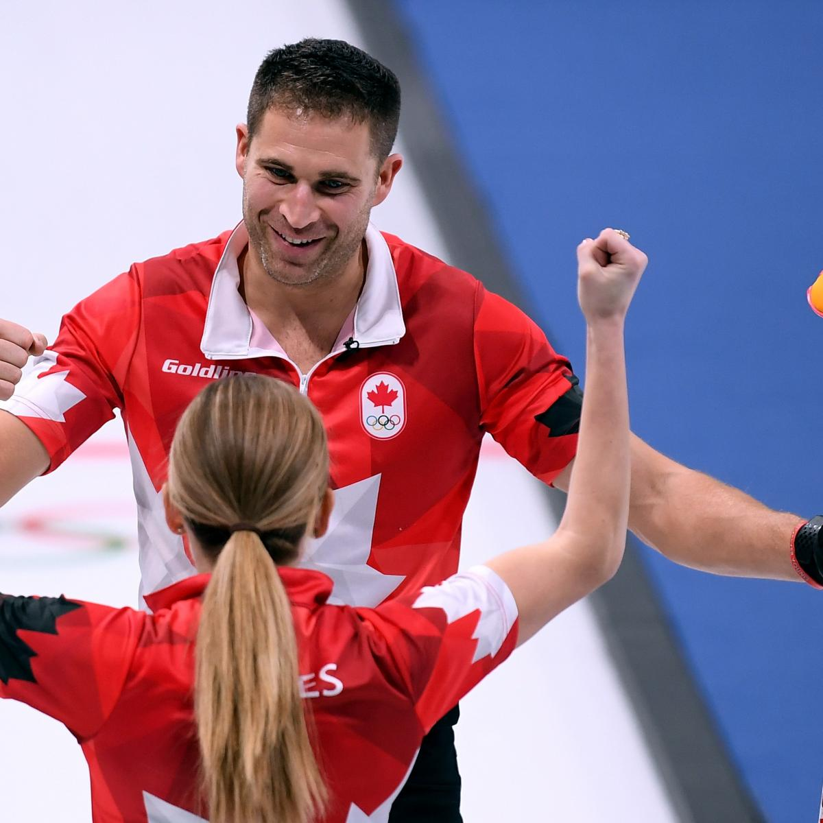 Canada Tops Switzerland to Win Curling Mixed Doubles Gold Medal at 2018 Olympics