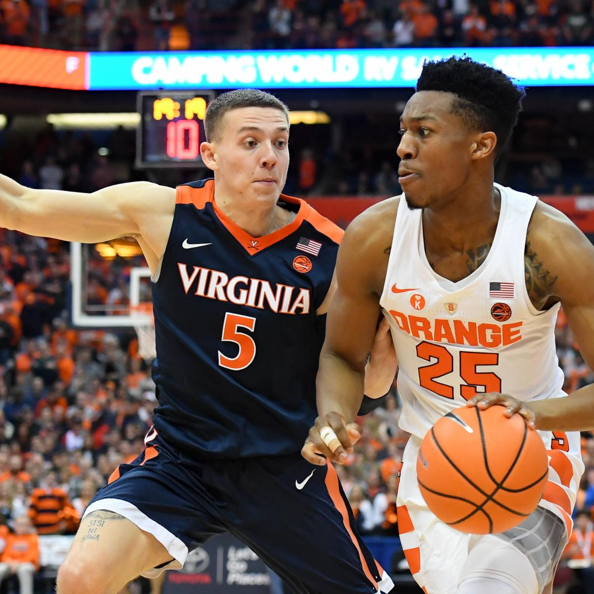 2018 NCAA Tournament Bracket: Latest Projection of the Field of 68