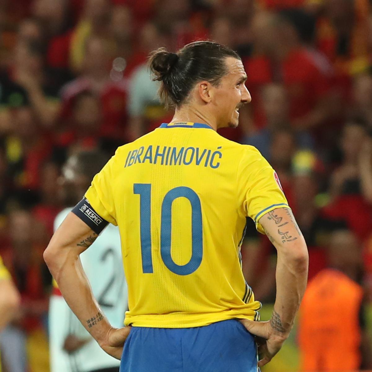 Zlatan Ibrahimovic Considering Sweden National Team Return for 2018 World Cup