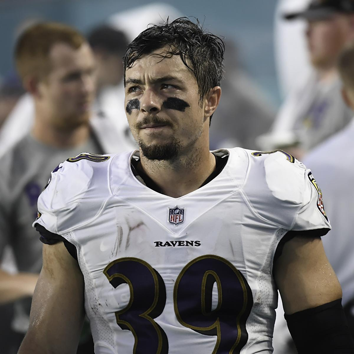 Danny Woodhead Reportedly Released by Ravens After 1 Season with Team