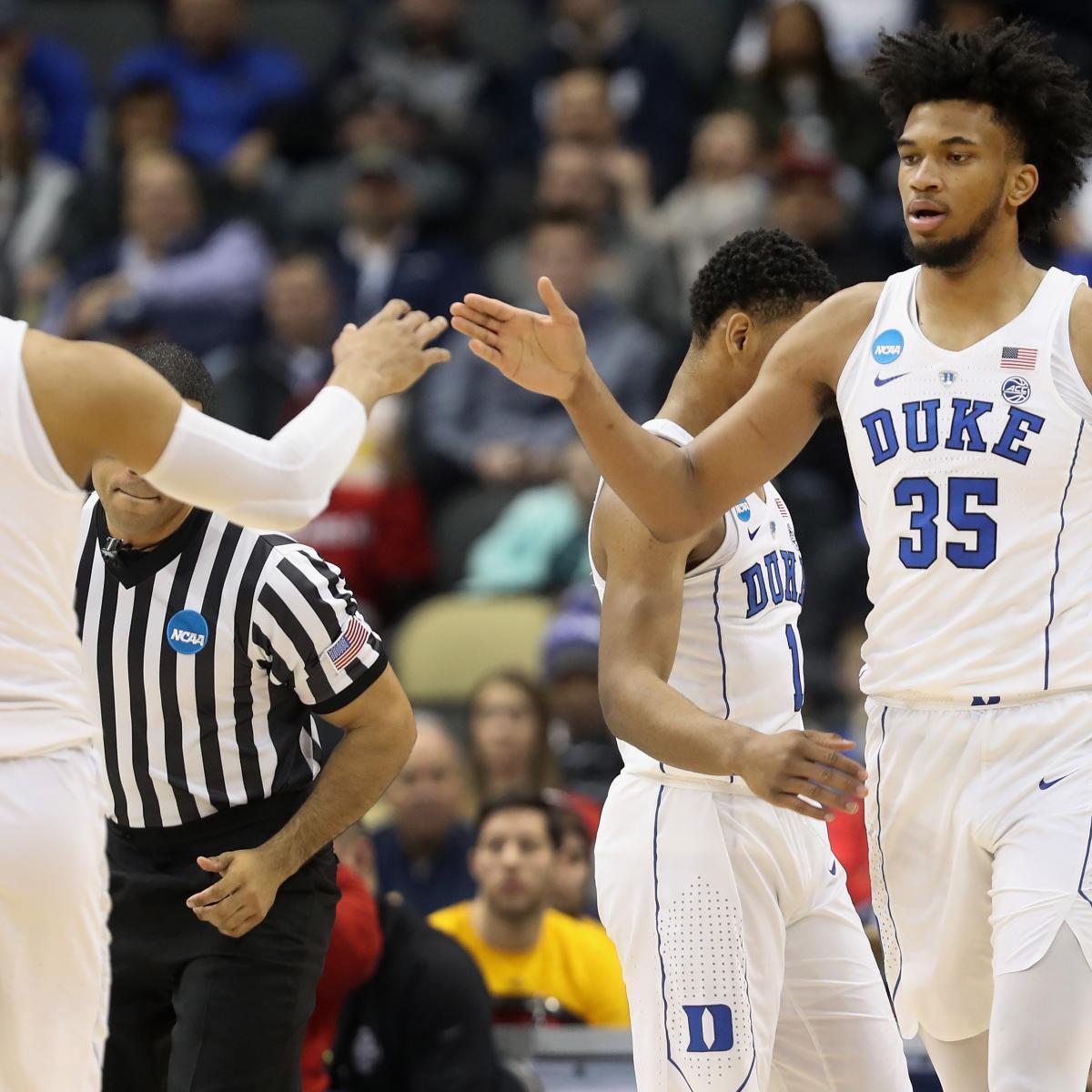 NBA Draft 2018: Latest Mock Draft with NCAA Tournament Underway