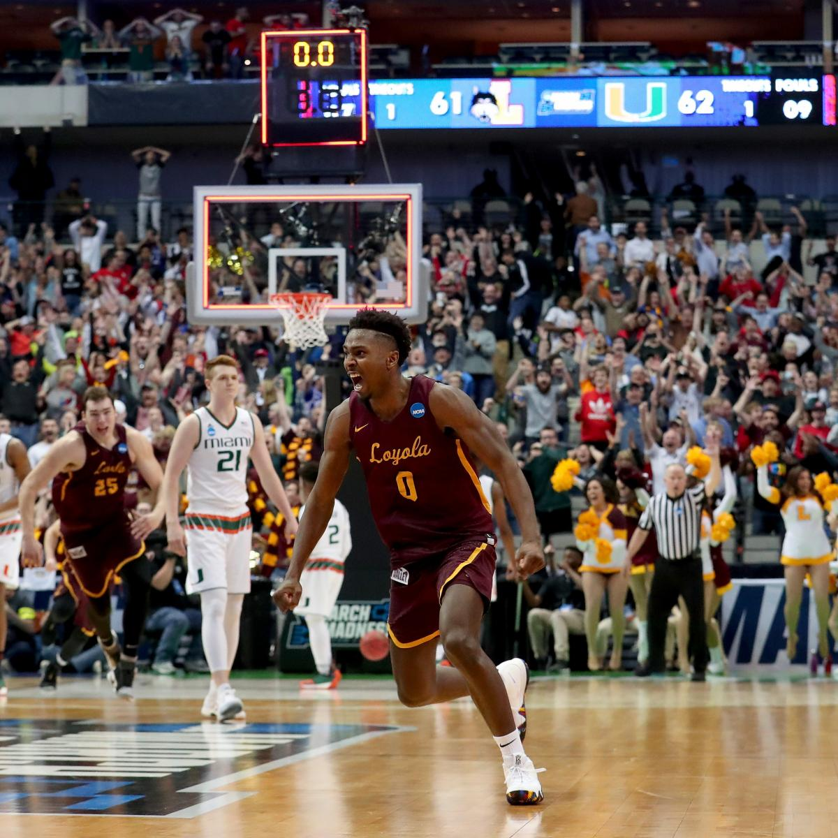 March Madness 2018: Bracket Predictions, Odds Tips for Saturday Round 2 Schedule