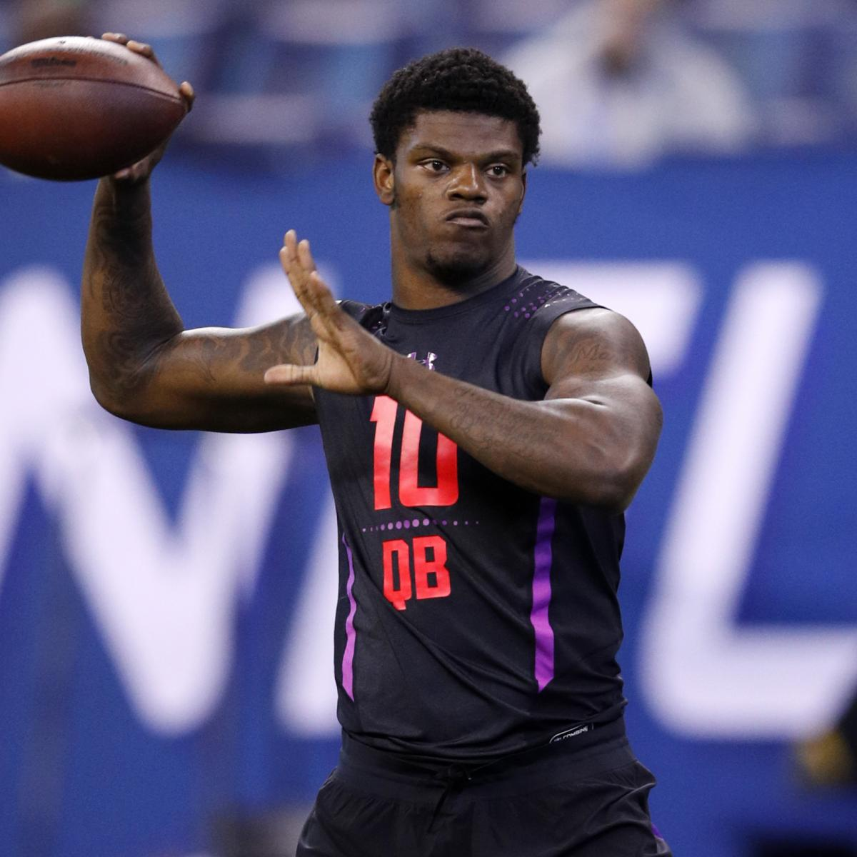2018 NFL Mock Draft: 1st-Round Predictions and Top Prospects' Stock Watch