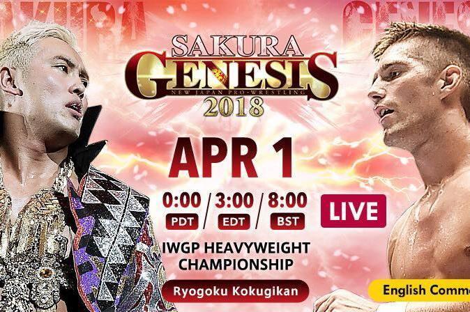 NJPW Sakura Genesis 2018 Results: Winners, Grades and Reaction