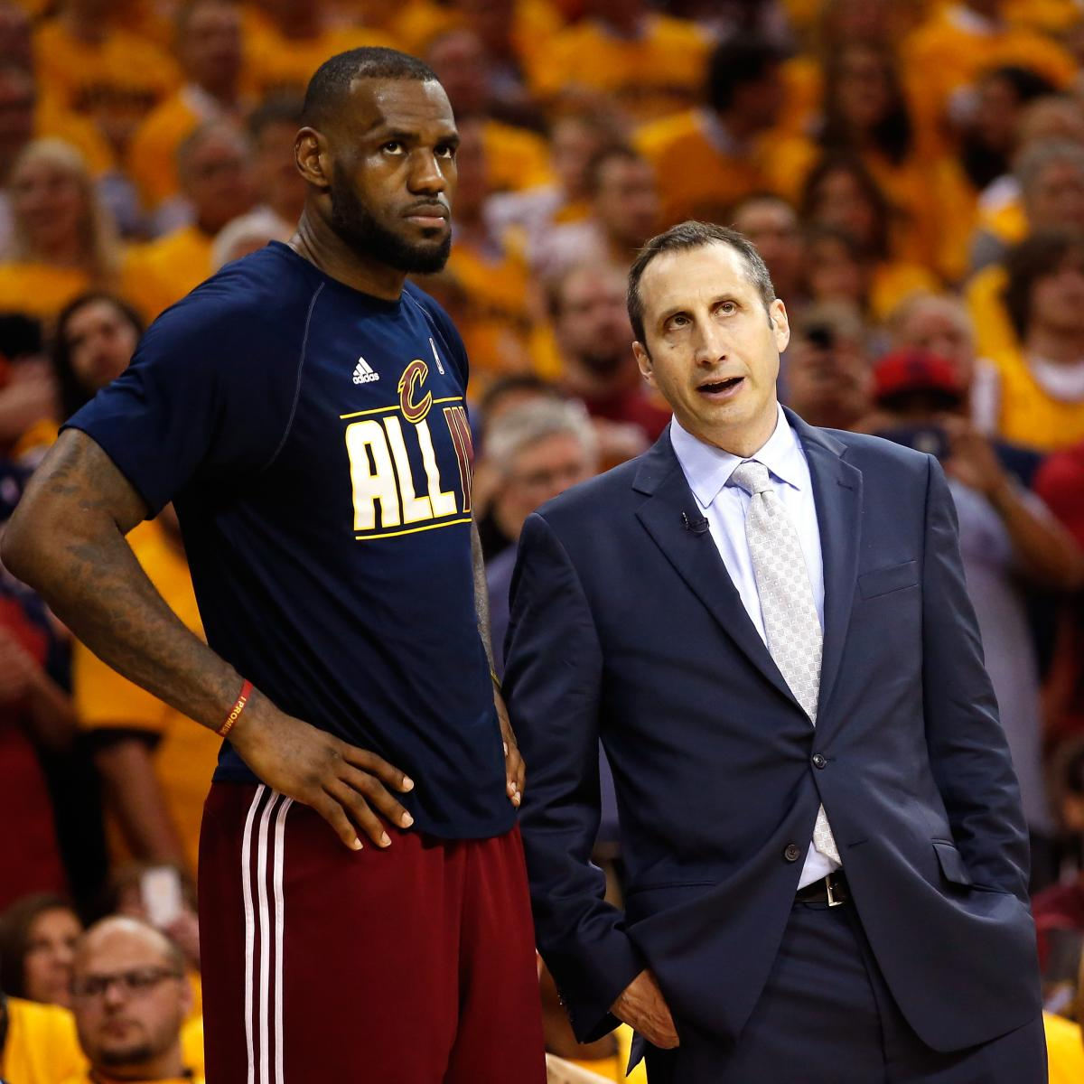 David Griffin: Cavs Didn't Think LeBron James Would Sign After David Blatt Hire