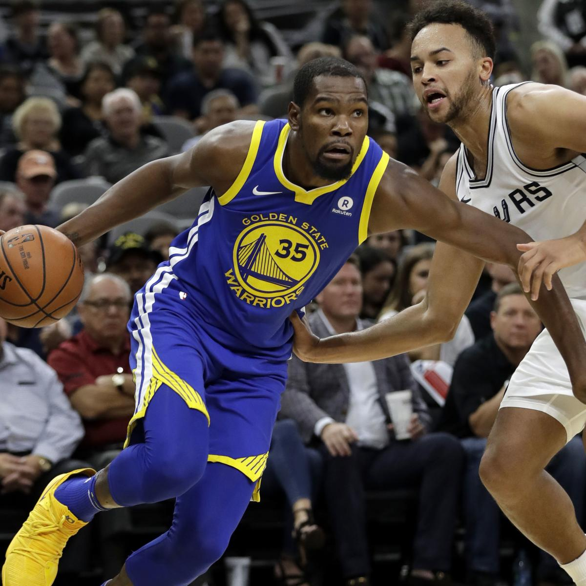 Even Without Stephen Curry, Golden State Warriors Have Talent Edge over Spurs