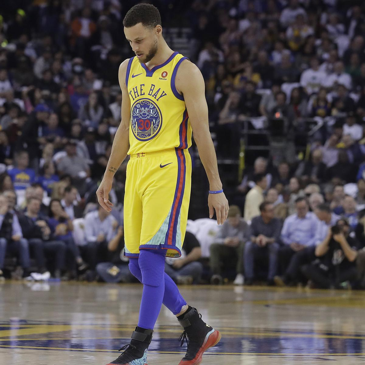 Stephen Curry Reportedly Targeting Conference Semifinals Return from Knee Injury