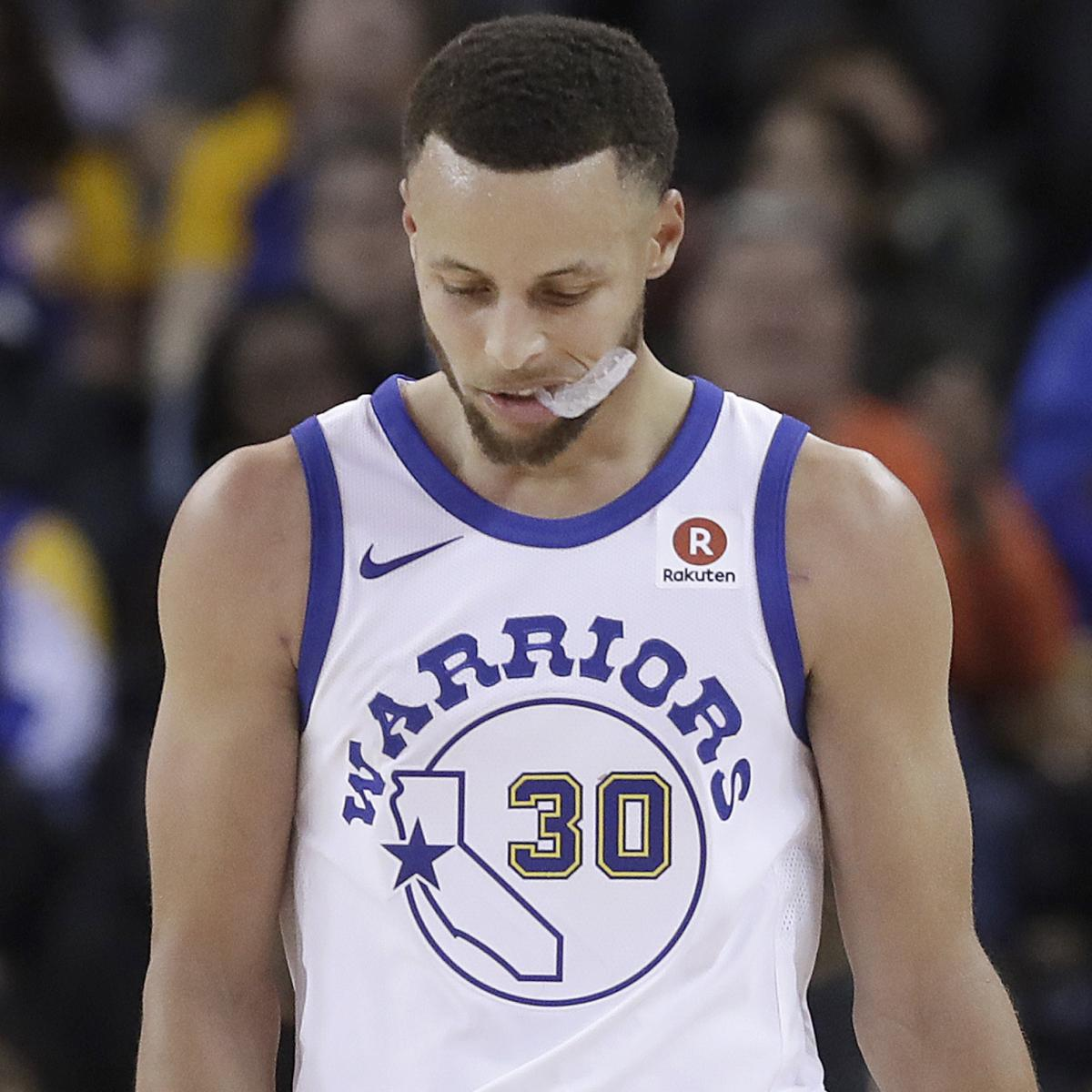 Stephen Curry Knee Injury to Be Re-Evaluated in 1 Week