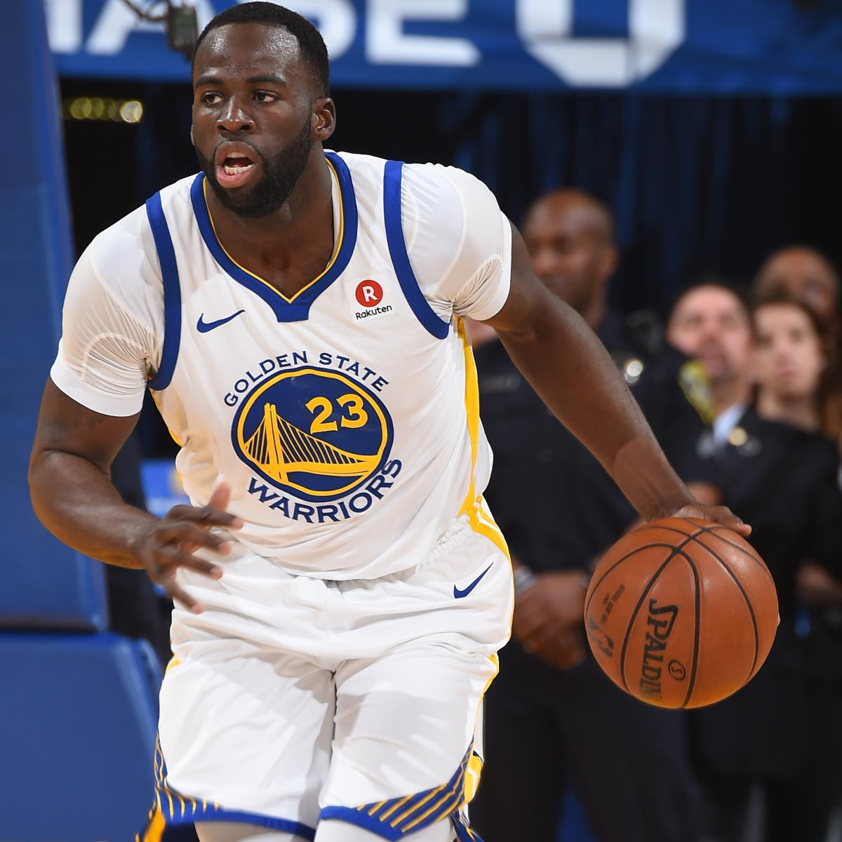 Draymond Green: Warriors Know What They're Capable of Without Stephen Curry