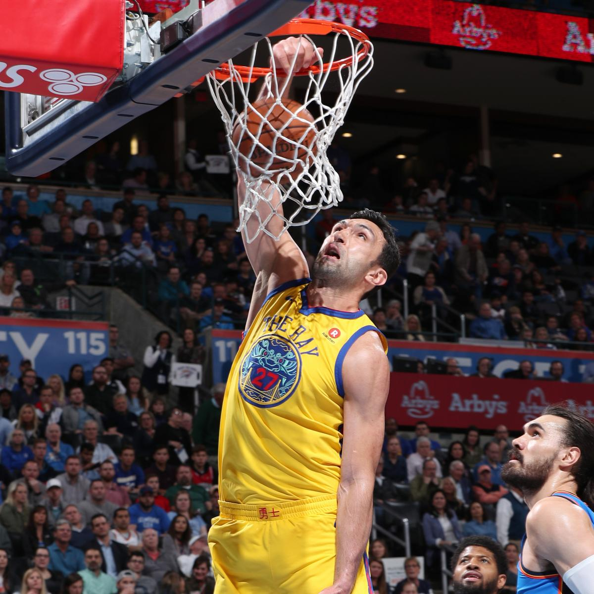 Report: Ex-Warrior Zaza Pachulia, Pistons Agree to 1-Year, $2.4M Contract