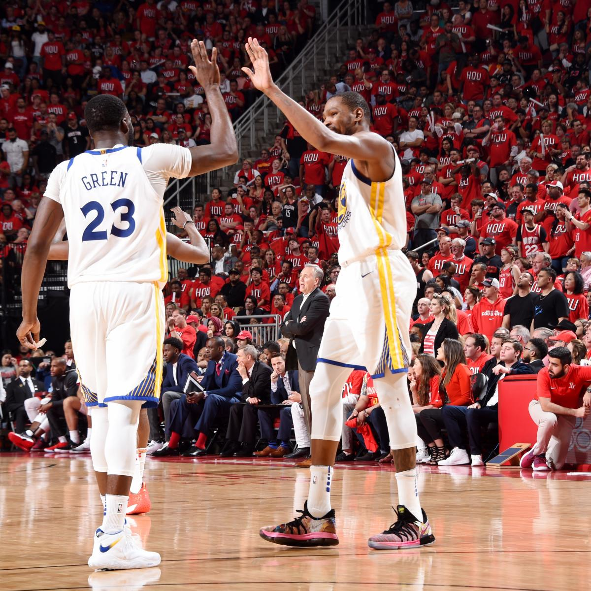 NBA Playoff Bracket 2018: Dates, Game Times, TV Schedule for Conference Finals