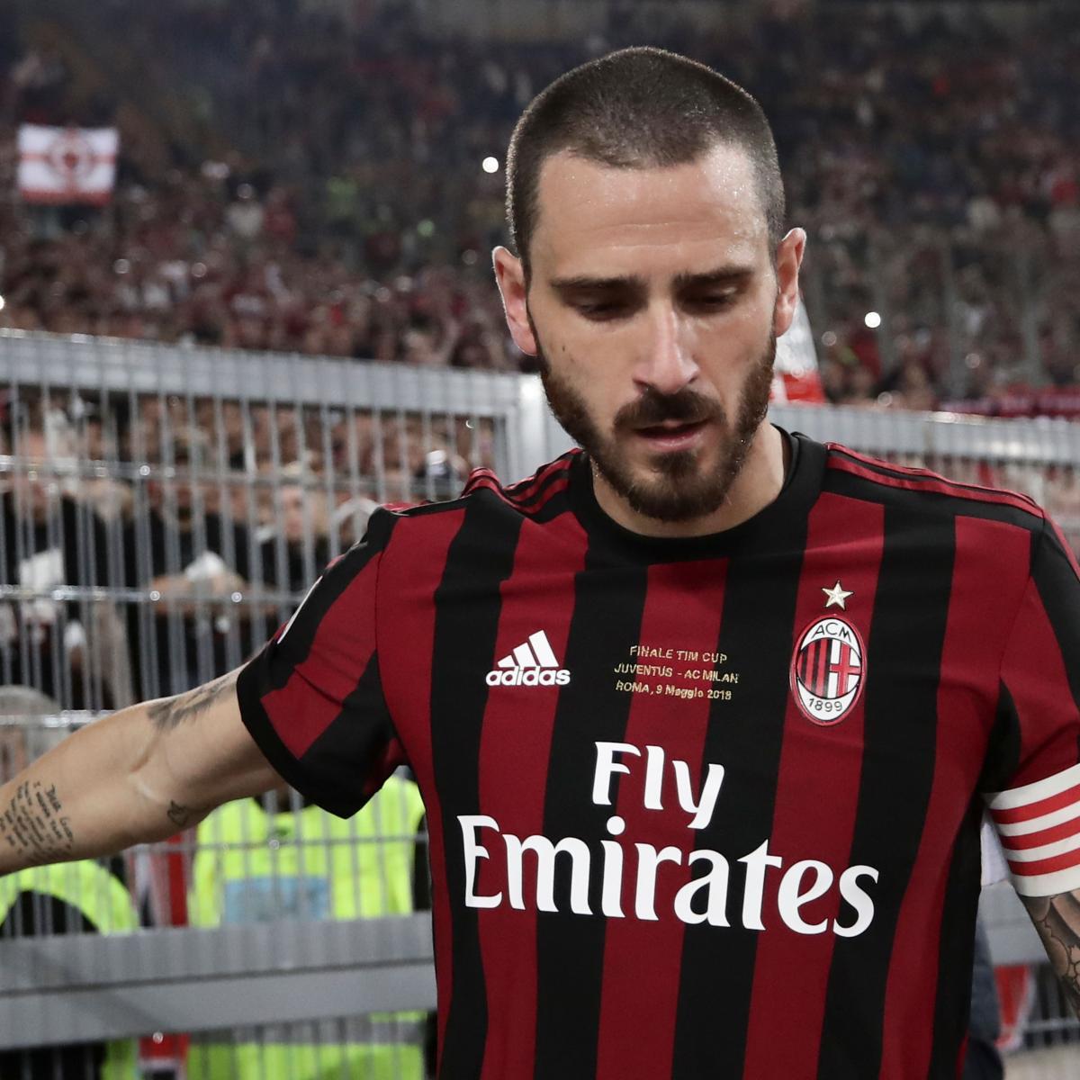 Manchester United Transfer News: Latest Rumours on Leonardo Bonucci