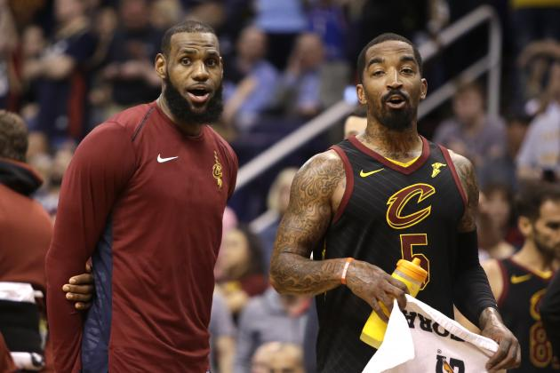 JR Smith: Cavaliers' Struggles Forcing LeBron James to Do Too Much