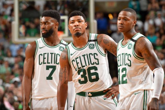 Jaylen Brown, Marcus Smart Address Celtics Playoff Road Woes