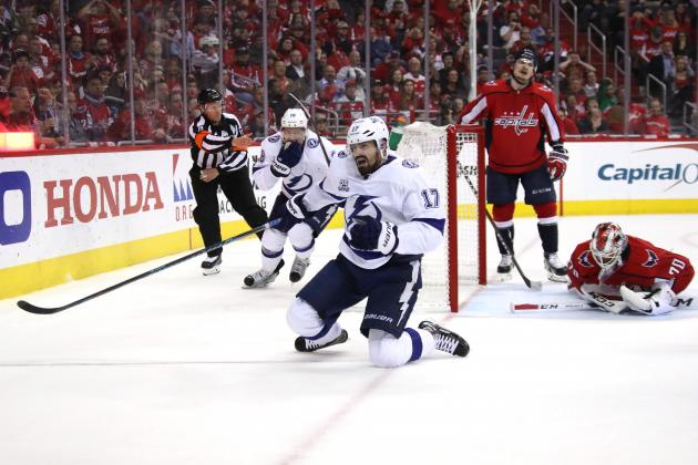Lightning Even Series with 4-2 Win vs. Alex Ovechkin, Capitals in Game 4