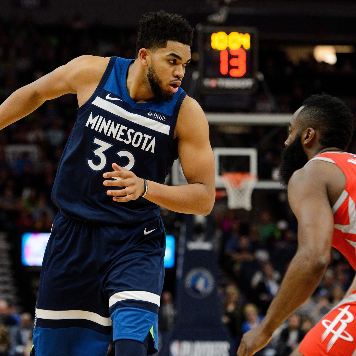 Karl-Anthony Towns, Timberwolves Reportedly Agree to 5-Year, $190M Contract