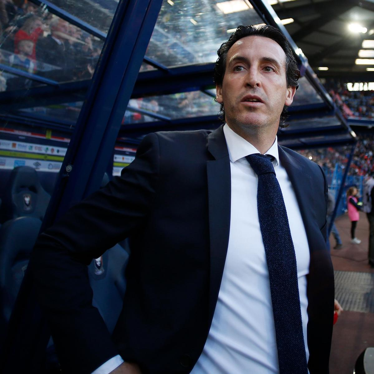 Report: Unai Emery to Be Named as Arsenal's Arsene Wenger Replacement as Manager