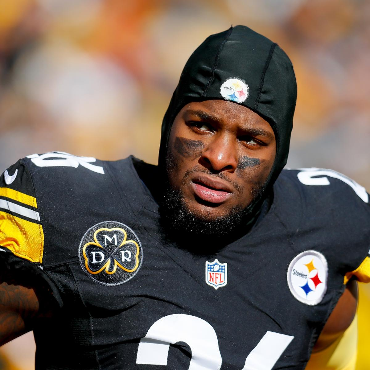 Report: Le'Veon Bell to Skip Steelers OTAs After Getting Franchise Tagged Again