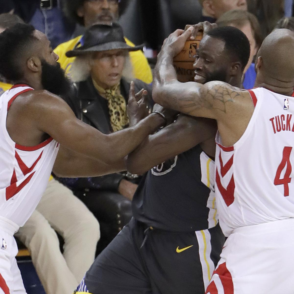 Golden State Warriors vs. Houston Rockets: Game 5 Odds, NBA Betting Pick