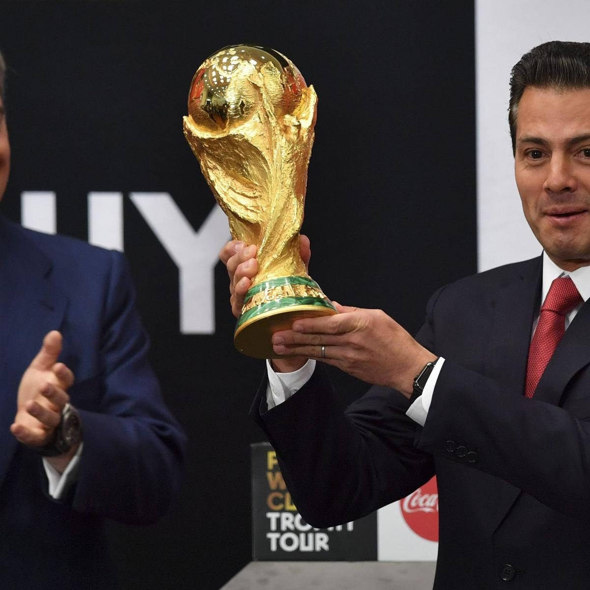World Cup 2018 Groups Schedule, Start Times, TV Coverage and Live-Stream Info