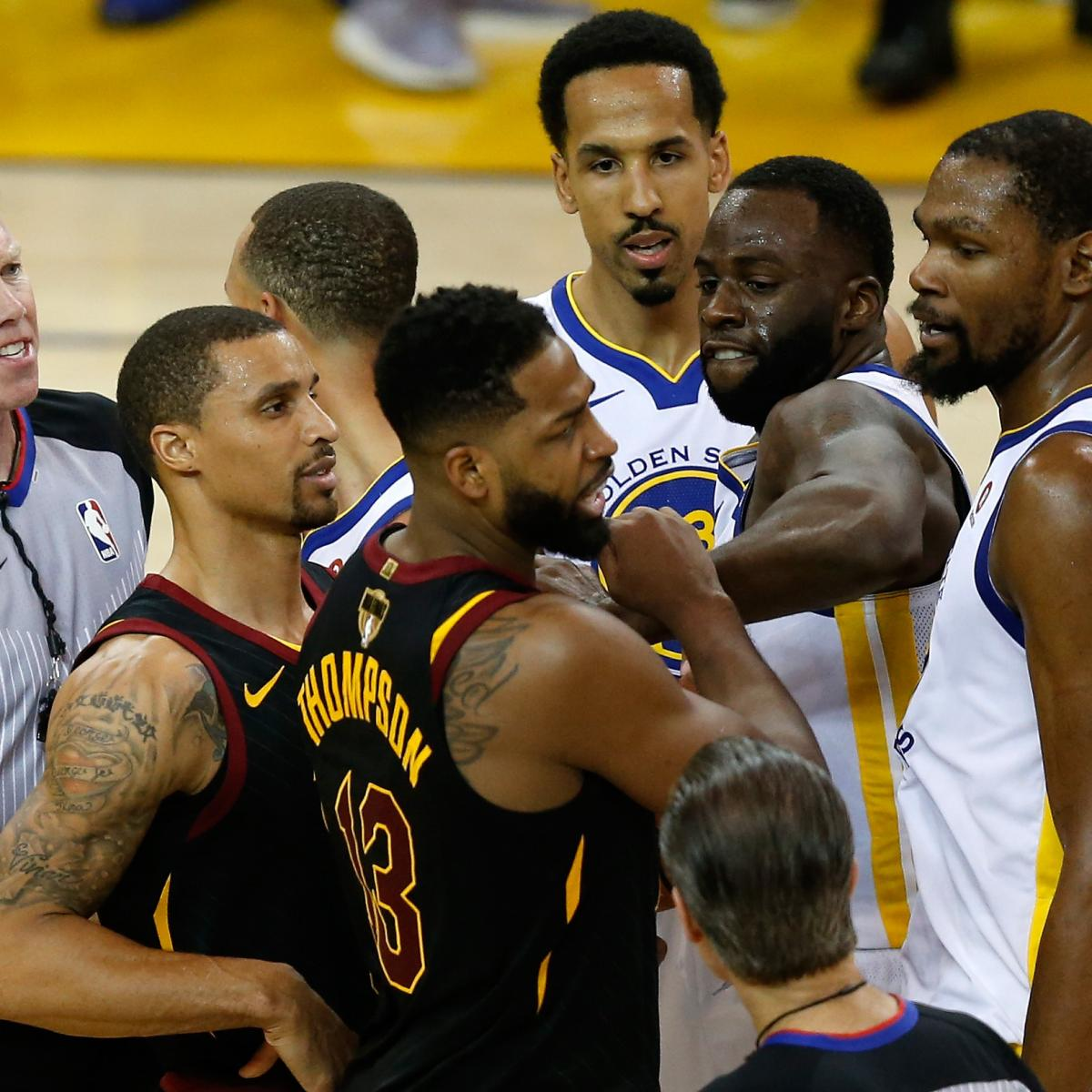 Draymond Green on Tristan Thompson: 'I Can Meet Him in the Streets Any Day'