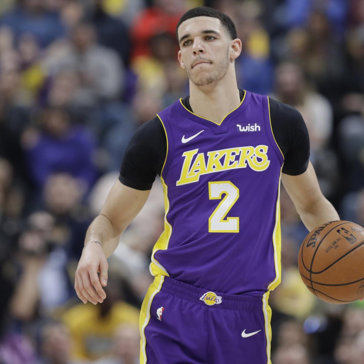 Lonzo Ball Reportedly Expected to Be Ready for Lakers Camp After Knee Injury