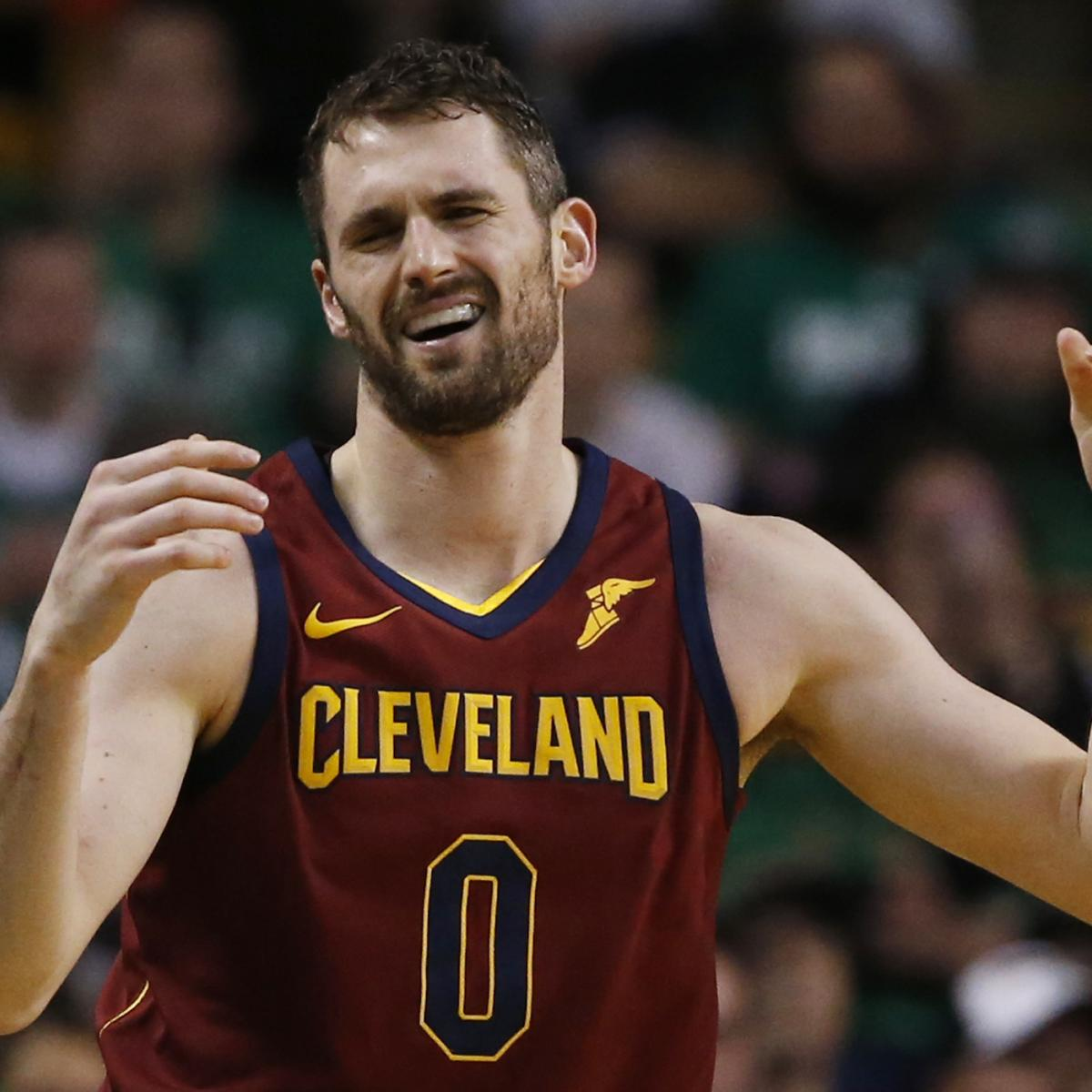 Trade Packages and Landing Spots for Kevin Love If LeBron James Leaves Cavs