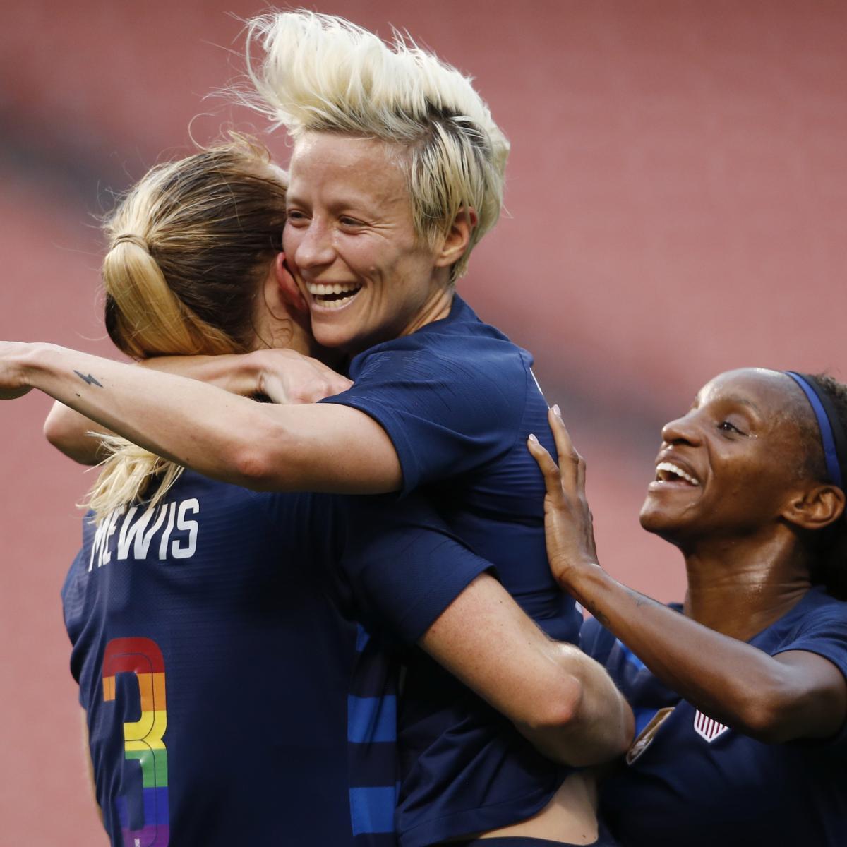 Megan Rapinoe, USA Women's Soccer Beats China in Tobin Heath's Return