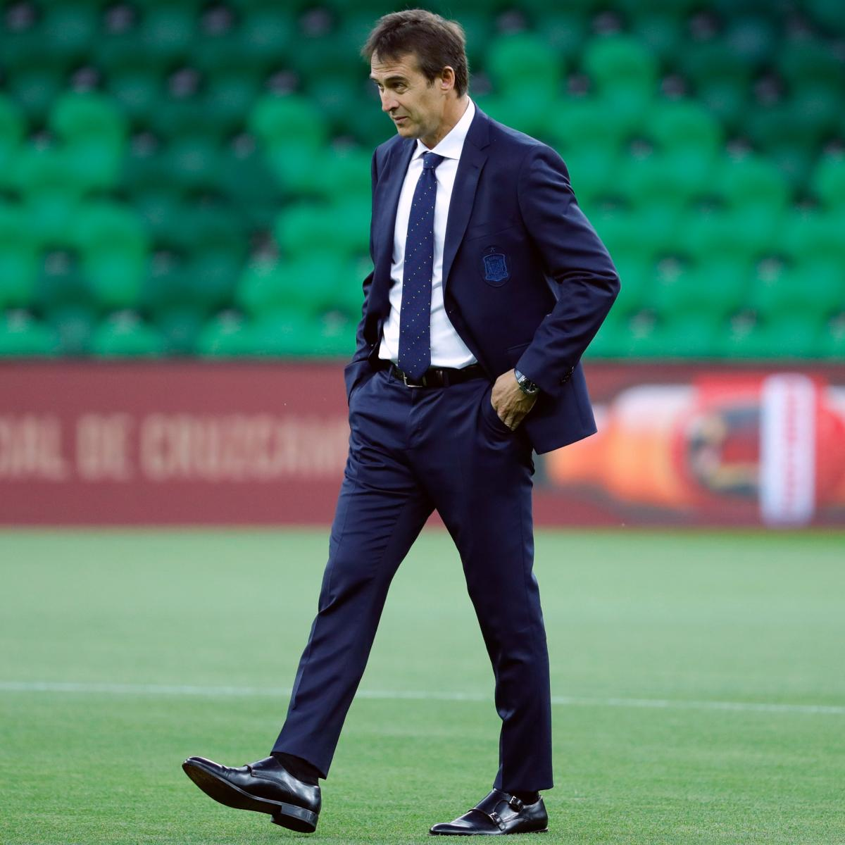 Spain Sack Julen Lopetegui Ahead of World Cup After Real Madrid Appointment