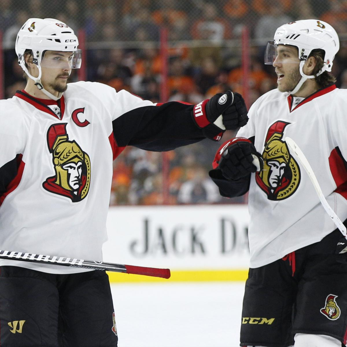 Mike Hoffman's Fiancee Accused of Online Harassment of Erik Karlsson's Wife