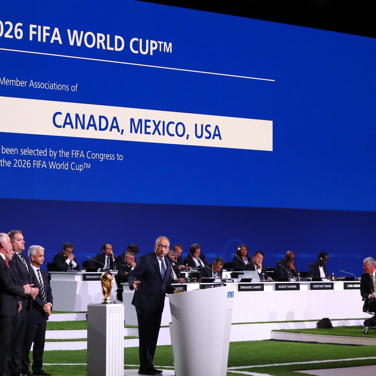 2026 World Cup: Potential Host Sites After USA, Mexico, Canada Named Hosts