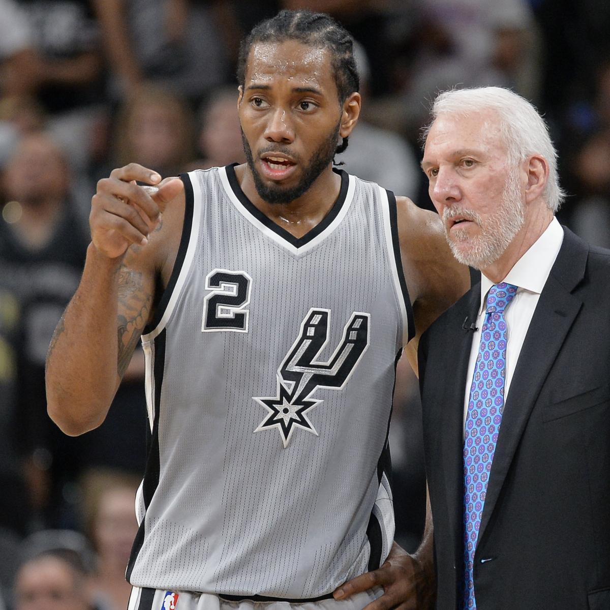 NBA Rumors: Latest on Kawhi Leonard, Cavaliers' Plans, Jonas Valanciunas Trade