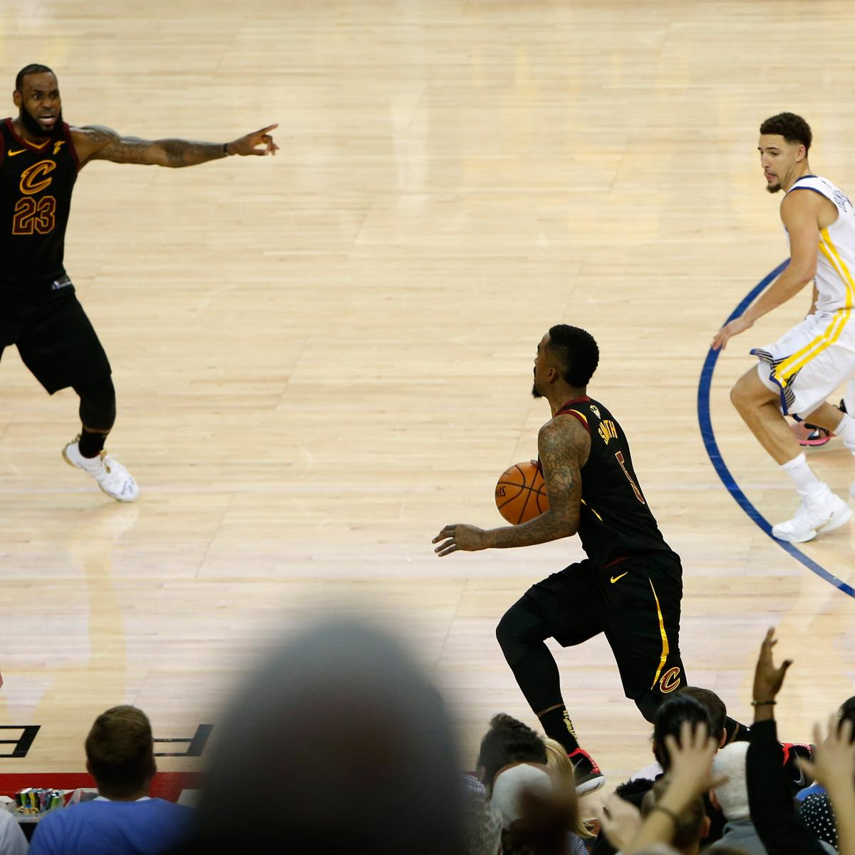 LeBron James' Jersey from NBA Finals Game 1 Sold for More Than $100k at Auction