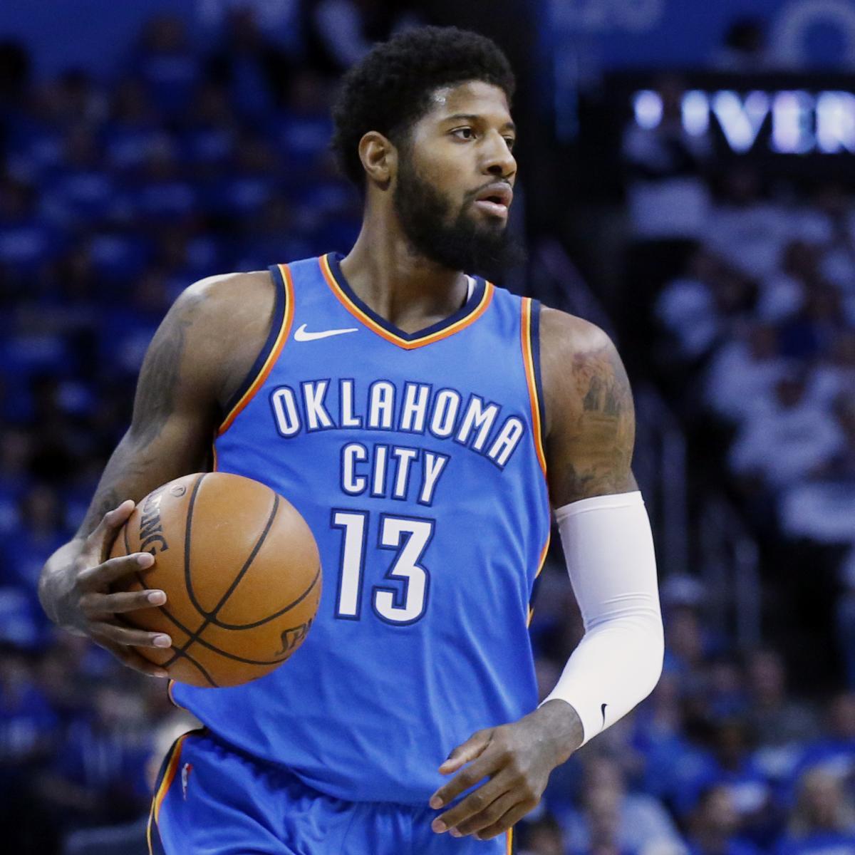 NBA Free Agents 2018: Rumors, Predictions for Paul George, DeAndre Jordan, More