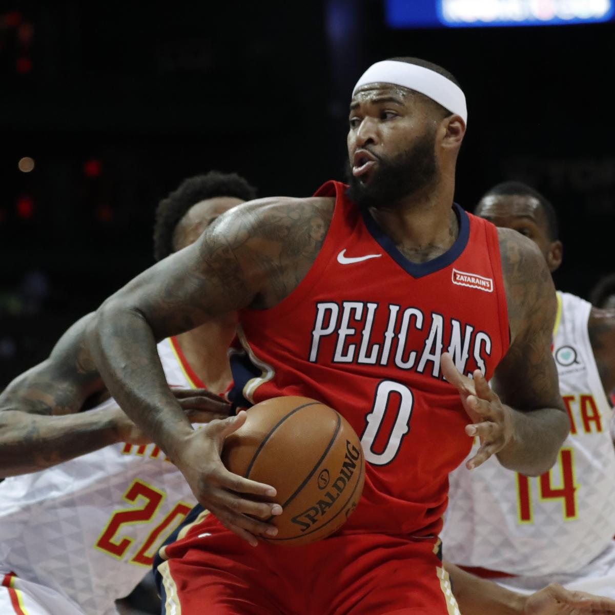 Lakers Rumors: Latest Buzz on LeBron James, DeMarcus Cousins and More