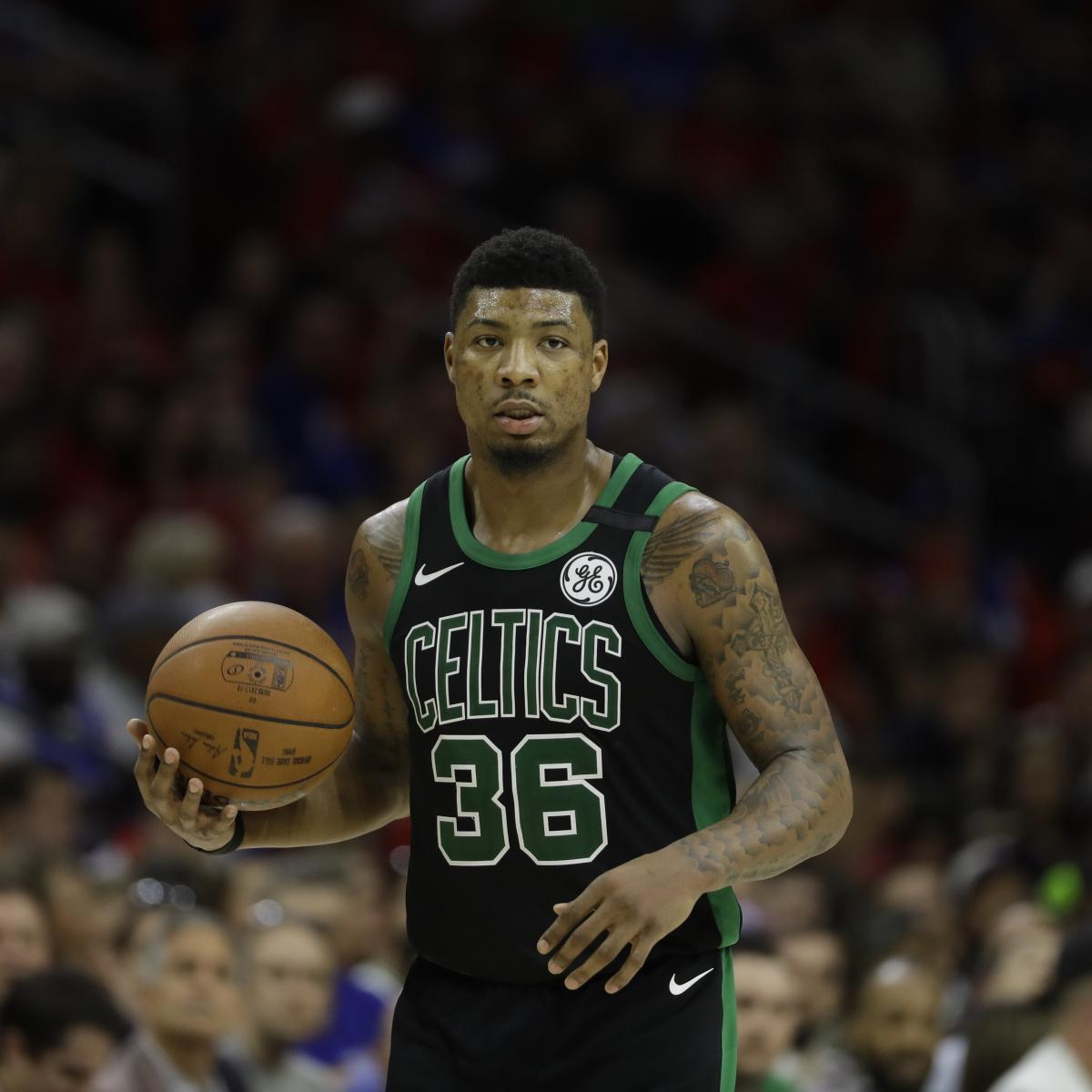 Celtics Rumors: Boston Hasn't Contacted Marcus Smart, PG 'Hurt and Disgusted'