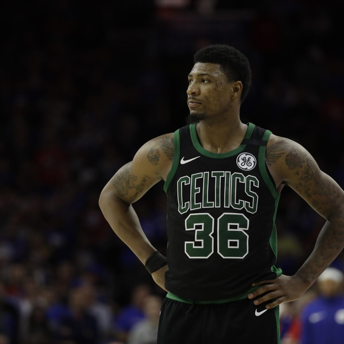 NBA Free Agents 2018: Rumors, Predictions for Marcus Smart, Tony Parker, More