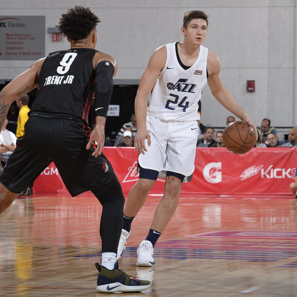 NBA Summer League 2018: Scores and Highlights from Saturday's Las Vegas Results