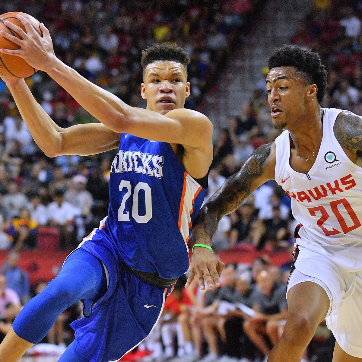 NBA Summer League 2018: Sunday Schedule, Latest Las Vegas Standings and Stats