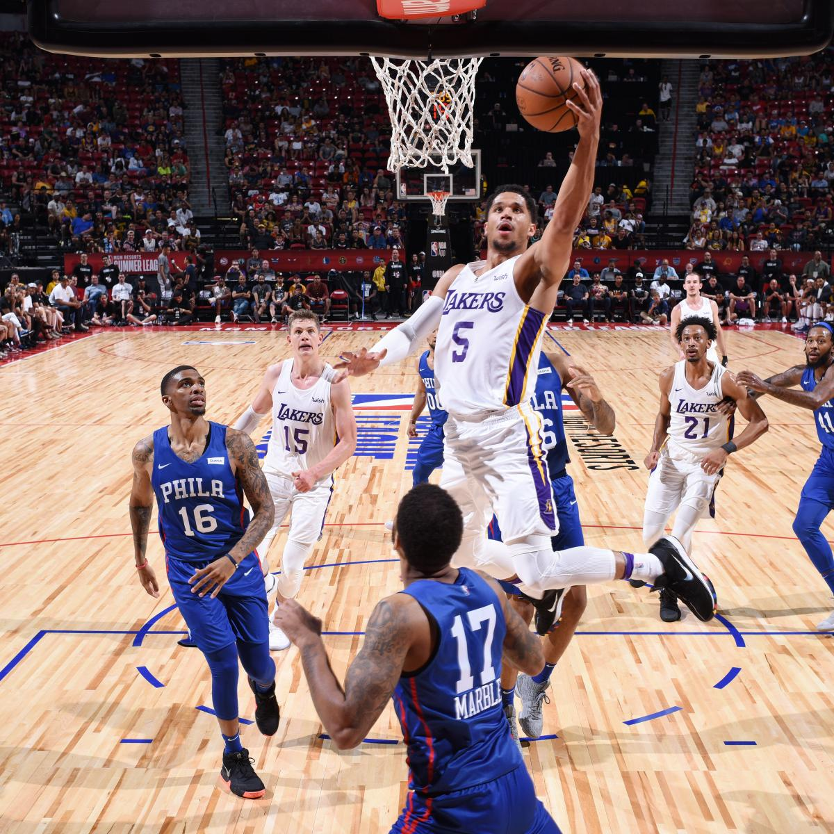NBA Summer League 2018: Tuesday Schedule, Latest Las Vegas Standings and Stats