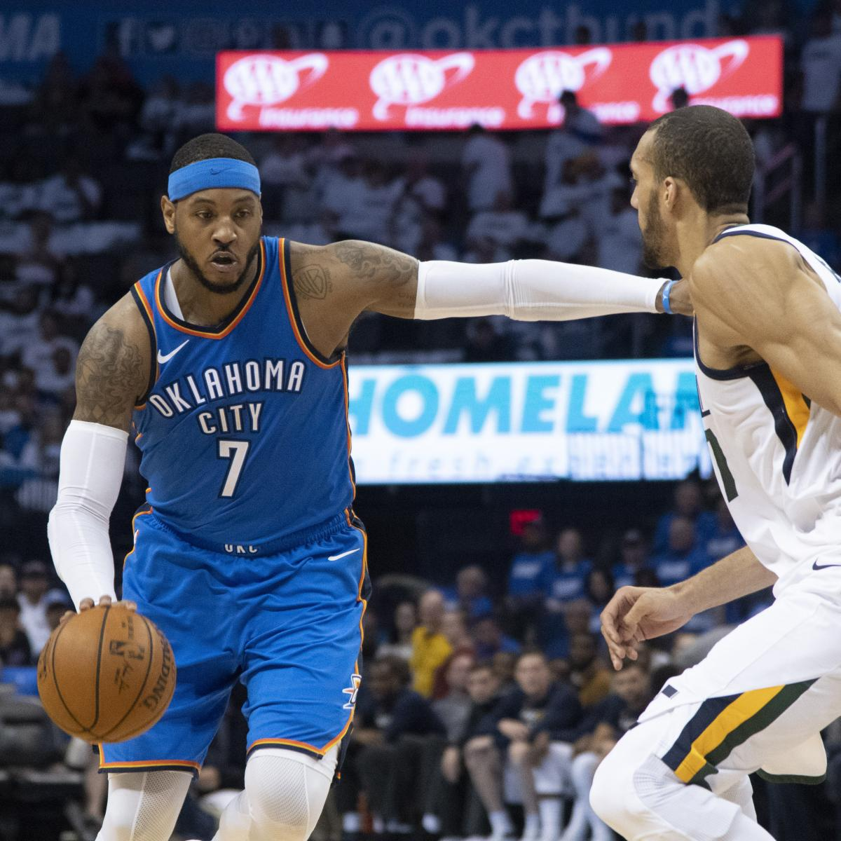 Carmelo Anthony Odds: Rockets, Lakers, Heat Top Betting Odds to Sign SF