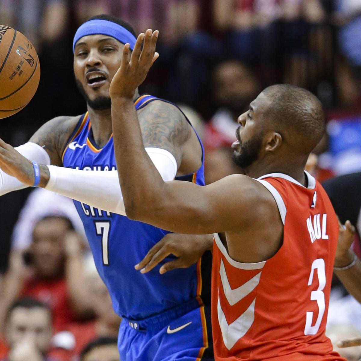 Tuesday NBA Free Agency Roundup: Rockets, Not Heat, Are Best Fit for Melo