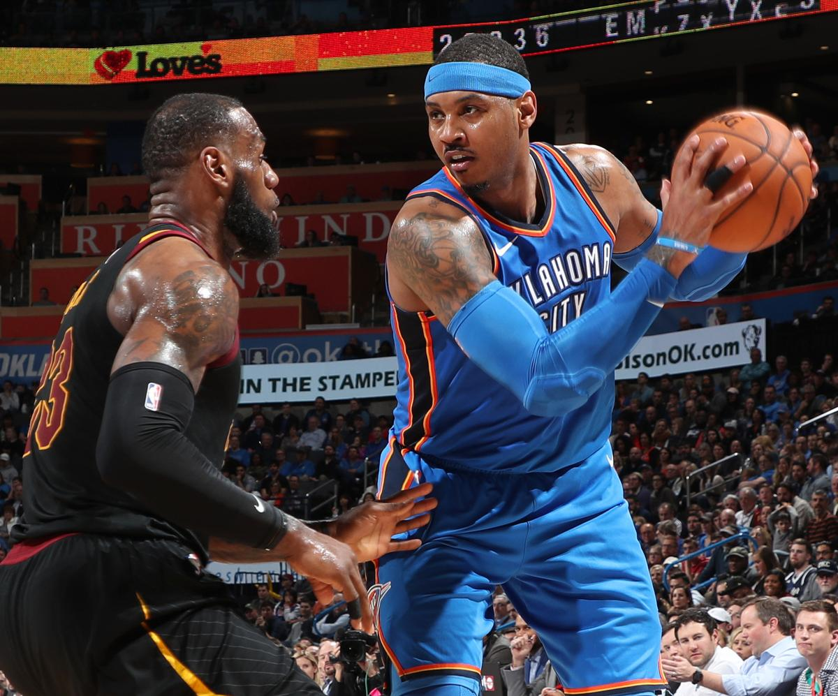 Lakers Rumors: Latest on Carmelo Anthony, LeBron James and 2019 Targets
